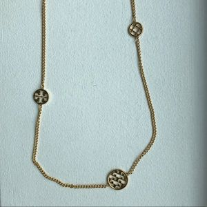 NWOT Tory Burch gold necklace